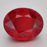 "Top gem ""Pigeon Blood"" red, Burma ruby of 4.01cts. GIA certified ""Pigeon Blood""."