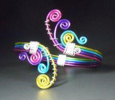Crashing Colorful Waves Bracelet