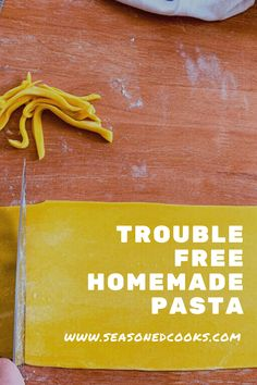 A common problem when rolling out pasta for the first time is when the dough develops cracks, tears and holes. Here are some tips to use so you can make delicious, smooth sheets of pasta at home.