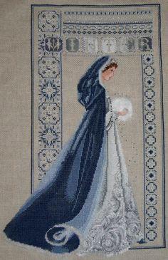 A trouver Celtic Cross Stitch Lavender & Lace Celtic Winter:
