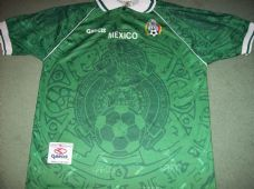 1999 Mexico Football Shirt Camiseta Adults Medium