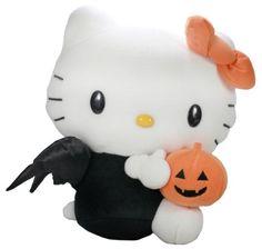 Halloween Pumpkin Hello Kitty Plush Toy