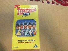 Video vhs #thunderbirds #trapped in the sky #cardboard case,  View more on the LINK: 	http://www.zeppy.io/product/gb/2/222236256423/