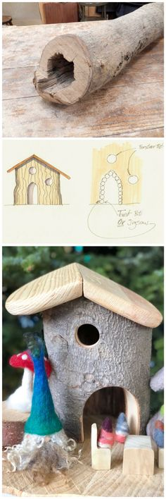 How to build a house for gnomes.