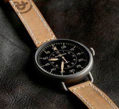 Bell & Ross WWI-92 Heritage  There is something about Bell & Ross watches that has always appealed to me. Their timepieces were originally worn by pilots in the 1920's, making you feel like you'recarryinga little piece of history around with you at all times. The large diameter and leather strap on the Bell & Ross WWI-92 Heritage gives a masculine and elegant look without being too stuffy or too sporty. It's entirely wearable on an everyday basis, making the price