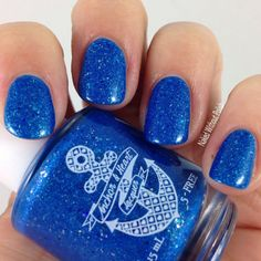 Anchor & Hearts Lacquer Winter Blues @tarynjshaw