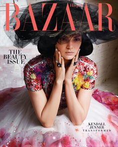 Kendall Jenner lands her first ever BAZAAR cover, photographed by Karl Lagerfeld. See the full fashion shoot here:
