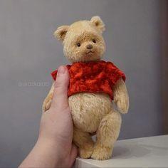 Deep in the hundred acer woods lives a bear named Winnie The Pooh Unicorn Stuffed Animal, Winnie The Pooh Plush, Charlie Bears, Teddy Toys, Cute Teddy Bears, Vintage Teddy Bears, Hamster, Tatty Teddy, Bears