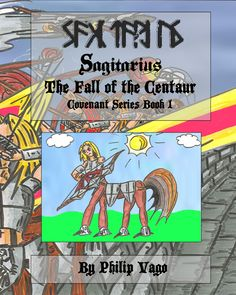 Sagitarius the Fall of the Centaur front paperback cover.