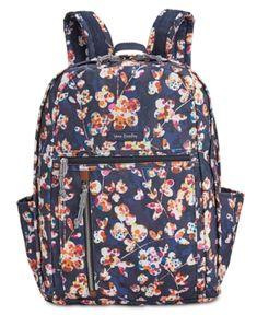 7b203fb6e136 Vera Bradley Lighten Up Grand Medium Backpack - Blue Prada Handbags
