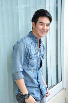 Denim Button Up, Button Up Shirts, Button Downs, Thailand, Tops, Women, Fashion, Moda, Fashion Styles