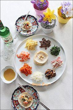 クジョルパン(韓国 宮廷料理)☆★ : Wagon Cafe