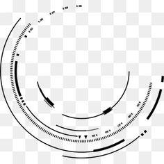 Creative ink lines of ink psd material,geometric circle swirl technological sense lines PNG and Clipart Geometric Circle, Geometric Lines, Vintage Grunge, Circle Monogram, Monogram Fonts, Victorian Frame, Photo Frame Design, Colorful Frames, Camera Logo