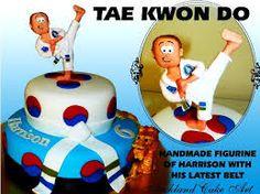 taekwondo cake topper - Google Search