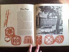 1947 Traditionally Pennsylvania Dutch Illustrated HC Book Thompson Smith