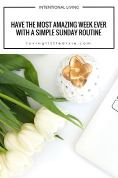 Are you tired of starting your week feeling behind? Stop dreading Monday and have the most amazing week ever by implementing this super simple Sunday routine!