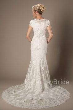 d5f041eb1cc4 modest-wedding-dresses-brentwood-back-2 Civil Wedding Dresses, Elegant.  LatterDayBride