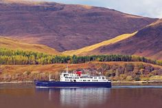 With space for 50 guests, the Hebridean Princess is small enough to sail more remote waters