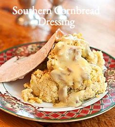 Southern Cornbread Dressing Recipe from addapinch.com