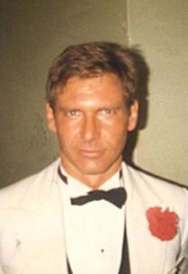 Harrison Ford as Indiana Jones, behind the scenes of the Temple of Doom