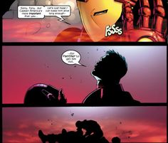 Tony risks his life to save Steve