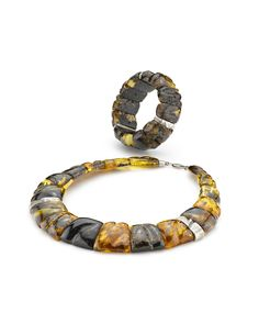 House of Amber - Nature amber necklace and bracelet.