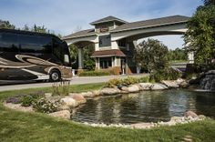 Hearthside Grove : Construction Updates : Progress Views : Renderings of the Motorcoach Lots