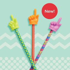 Patterned Hand Pointers - Set of 3 Newly designed, with bold new colours and patterns, these engaging hand pointers are the perfect way to liven up any lesson plan and encourage students to get excited about learning. Plus, they are easy to see against whiteboards. Teaching Aids, Get Excited, Learning Resources, Classroom Management, Helping Others, Pointers, Encouragement, Students, Stationery