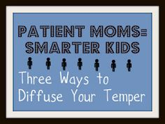 Great article... New Research Shows that Kids With Patient Moms Have Larger Hippocampus (Area of the Brain).  But What is a Mom to Do if the Kids Constantly Fight and Whine?  Child expert gives ideas on keeping your cool