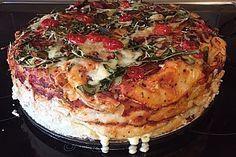 Pizzatorte (Rezept mit Bild) von biolecta | Chefkoch.de