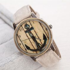 Cheap dropshipping, Buy Quality dropshipping watches Directly from China Suppliers:HF 2016 Fashion Polished Retro Anchor Watches Leather Band Analog Quartz Wrist Watch relogio masculino feminino Dropshipping Mens Watches For Sale, Cheap Watches, Women's Watches, Wrist Watches, Male Watches, Fancy Watches, Anchor Watch, Shops, Leather Watch Bands