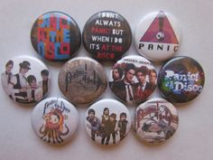 Panic At The Disco Pins by BigButtonBoy