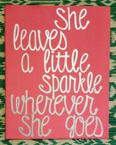 11x14 Girl Room Decoration Baby Shower She by AnchoredCreations2