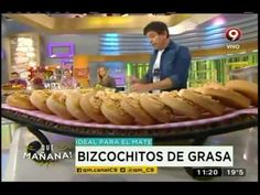 Receta: Bizcochitos de grasa - YouTube