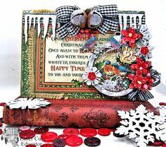 St. Nicholas Gift Box, Shaker Card & Ornament - Kathy by Design