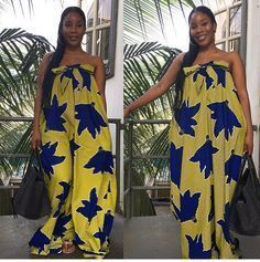 Unique Ankara Maxi Style: Feel The Beauty Of Different Styles And Designs Of The Ankara Fabric - Ankaracollections African Dresses For Women, African Print Dresses, African Attire, African Wear, African Women, African Prints, African Style, African Kids, African Clothes