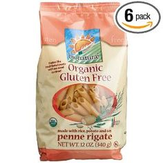 bionaturae Organic Penne Rigate, Gluten Free, 12-Ounce Bags (Pack of 6) $26.45#Repin By:Pinterest++ for iPad#
