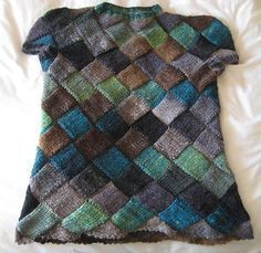 Harlequin Learns Japanese Pullover By Sarah Sutherland - Free Knitted Pattern - (ravelry)