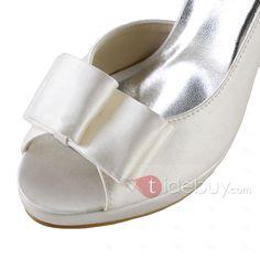 優雅なハイヒール結婚式靴