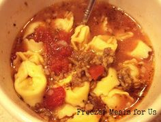 Tortellini and Sausage Soup by Maggie