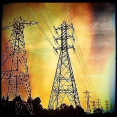 took a photo of some brand-new power lines and gave them some serious color and effects. This is a classic Pixlr-o-matic edit,. Computer Art, Digital Collage, How To Take Photos, Free Photos, Overlays, Classic, Color, Inspiration, Image