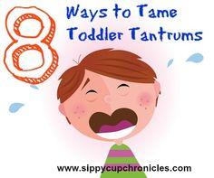8 Ways to Tame Toddler Tantrums