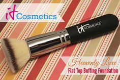 It Cosmetics Heavenly Luxe Flat Top Buffing Foundation Brush / myfindsonline.com