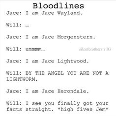 Will reacting to Jace's first names ♥♥♥