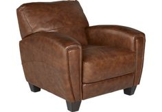 Pierro Saddle Leather Chair . $595.00. 39W x 40D x 35H. Find affordable…