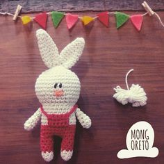Pattern available in Etsy (link in my bio!) #amigurumi #Mongoreto #handmade #knitting #toys #kawaii #cute #crochet #ganchillo #rabbit #bunny #conejo #lapin #paques #easter #pascua #pasqua #coniglio #handmadetoys #ilovecrochet #hechoamano #feitoaman #instacrochet #crochetaddict
