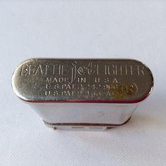 Old Beattie Jet lighter by HouseOfHalo on Etsy, $29.95