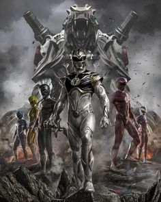 Which Power⚡Rangers team would you love to see redesign? First Power Rangers, Power Rangers Comic, Power Rangers Fan Art, Power Rangers Cosplay, Power Rangers Ninja Storm, Mighty Morphin Power Rangers, Power Rangers Poster, Power Rangers Time Force, Comic Books Art