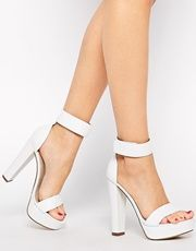 Windsor Smith Malibu High Heeled Barely There Sandals