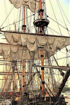 British four-masted bark 'Samaritan'.